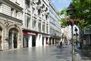 Ulica u Beogradu.