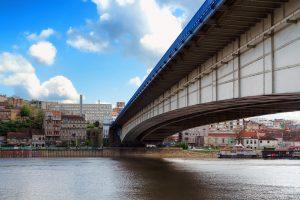 Most pored najbolje lokacije za stanovanje u Beogradu.