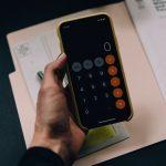 Kalkulator na mobilnom telefonu