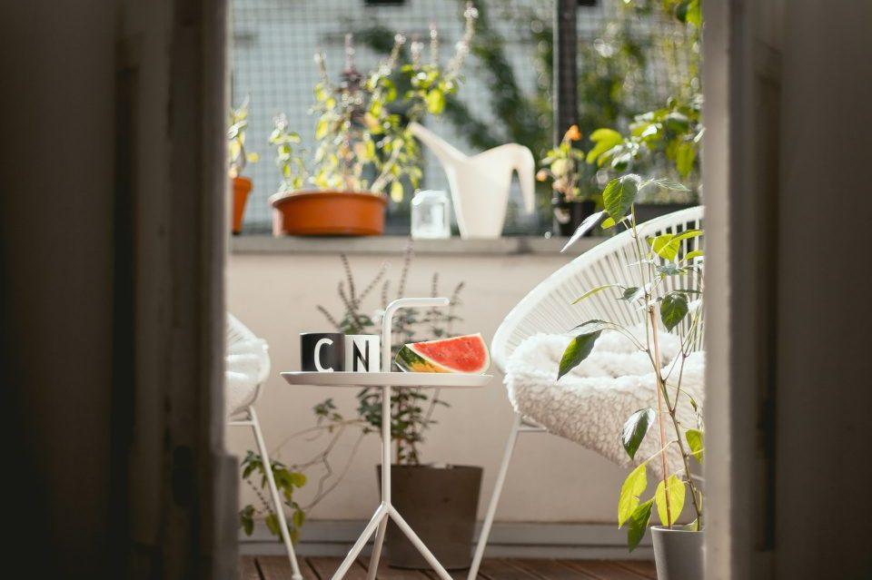 7 kreativnih rešenja za male terase
